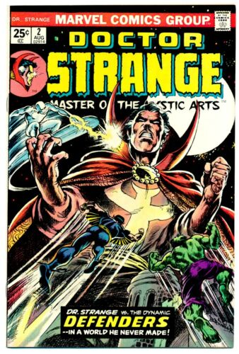 DOCTOR STRANGE #2 F, Frank Brunner c/a, foxing, Marvel Comics 1974 Stock Image