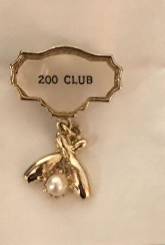 """""""1960s 200 Bowling Club Pin 1"""""""""""""""