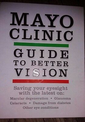 Mayo Clinic Guide To Better Vision  Hardcover  Bakri