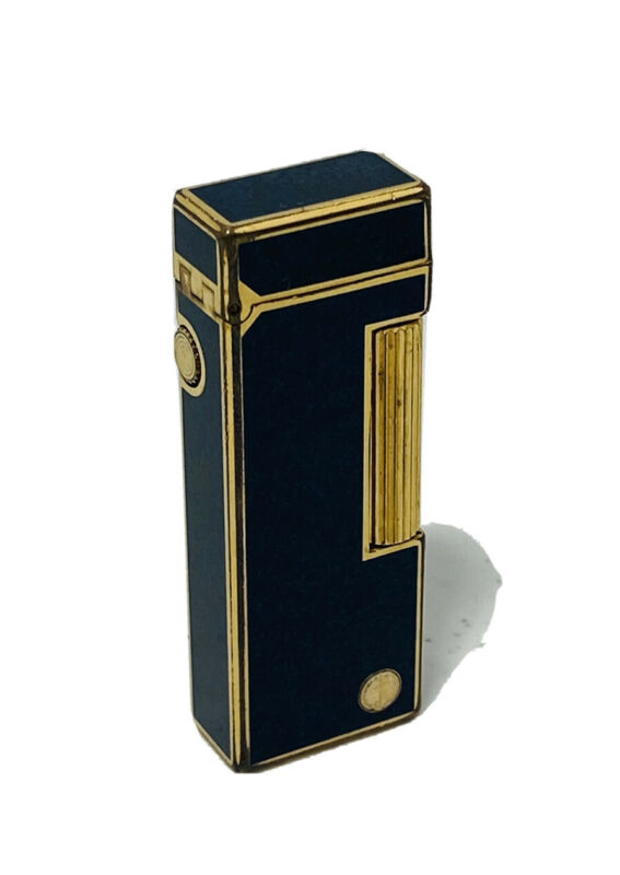Dunhill Lighter Rollagas Black / Gold Tone