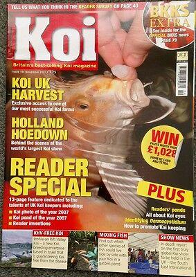 KOI MAGAZINE ~ NOVEMBER 2007 ~ ISSUE 114