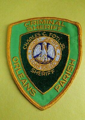 ORLEANS PARISH, LOUISIANA CRIMINAL SHERIFF (POLICE) SHOULDER PATCH LA