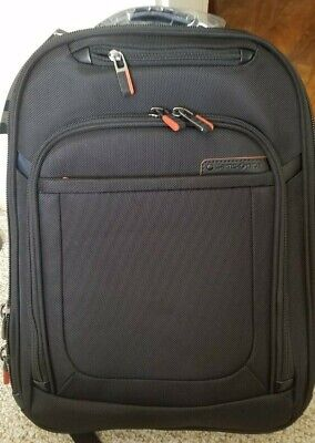 Brand new Samsonite travel backpack, approx. 17x12 Black and Orange