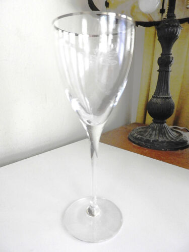 Kate Spade Lenox Crystal JUNE LANE Water Goblet Glass (S) Dragonfly Wine - NICE!