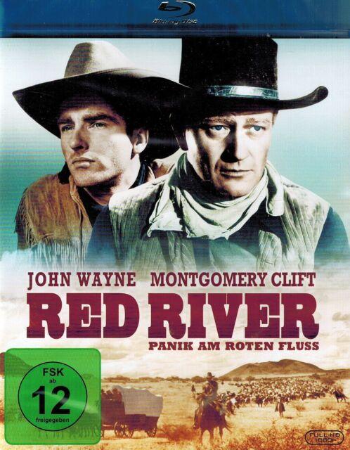 BLU-RAY - Red River - Panik am Roten Fluss - John Wayne & Montgomery Clift