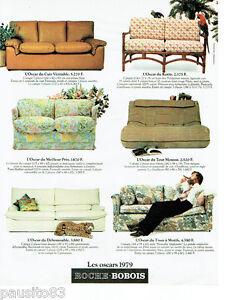 Publicite advertising 115 1978 roche bobois canap s les for Ebay canape roche bobois