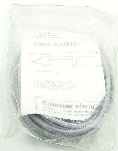 Baumer Electric Ultraschall Sensoren UNDK30U9101   UNDK 30U9101