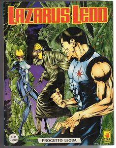 fumetto-LAZARUS-LEDD-editoriale-STAR-COMICS-formato-BONELLI-numero-34