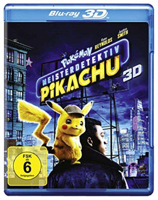 Pokémon Meisterdetektiv Pikachu 3D Blu-ray Pokemon Der Kinofilm Vorbestellung