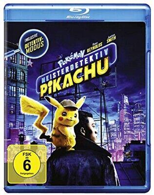 Pokémon Meisterdetektiv Pikachu Blu-ray NEU OVP Pokemon Der Kinofilm