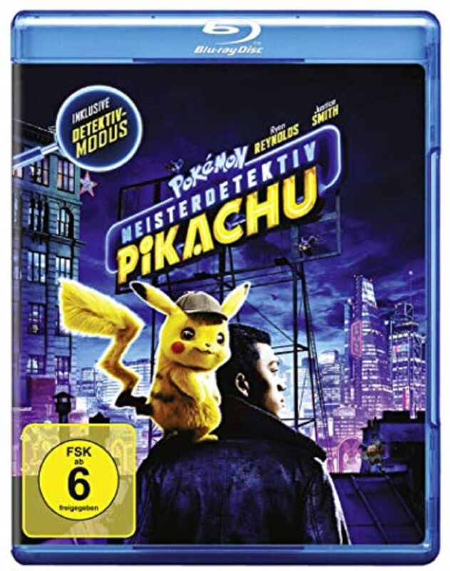 Pokémon Meisterdetektiv Pikachu Blu-ray NEU Pokemon Der Kinofilm Vorbestellung