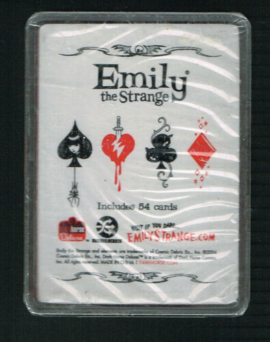 Emily The Strange Deck of Playing Cards