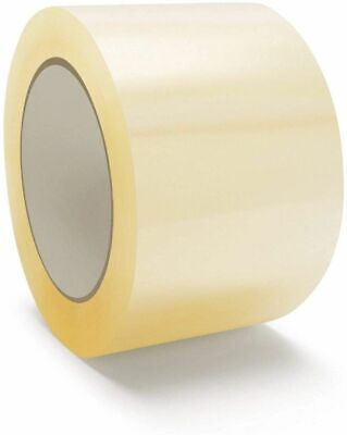 Clear Packing Tape Rolls, Moving Tape 110 Yard x 3 Inch, 2mil Thick , 6 Roll