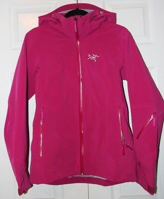 Arc'teryx Ravenna Ski Snowboard Jacket Women's - Medium M - Violet Wine - NEW