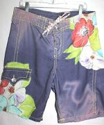 Mens Hawaiian Board Shorts
