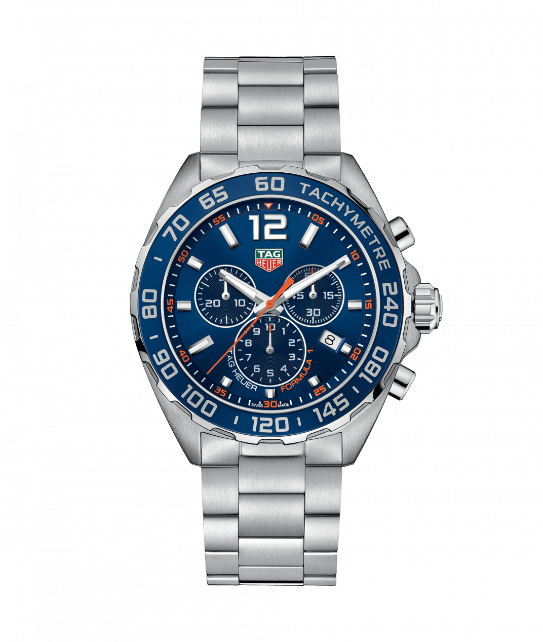 New Tag Heuer Formula 1 Chronograph Blue Dial Men's Watch CA
