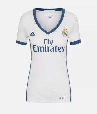 Camiseta Real Madrid Mujer-Talla L -Nueva en su bolsa