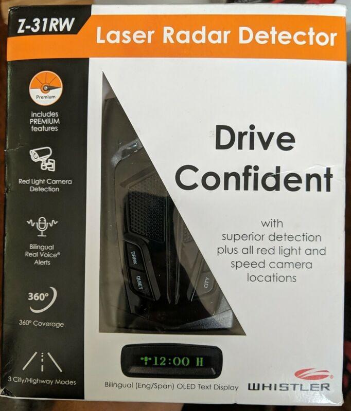 WHISTLER RADAR DETECTOR - Z-31RW - NEW!!!