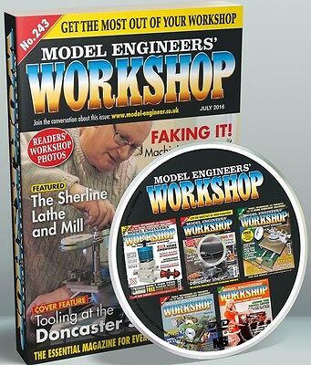 Model Engineer Workshop Magazine Issues 001 to 163 PDF Issues On DVD