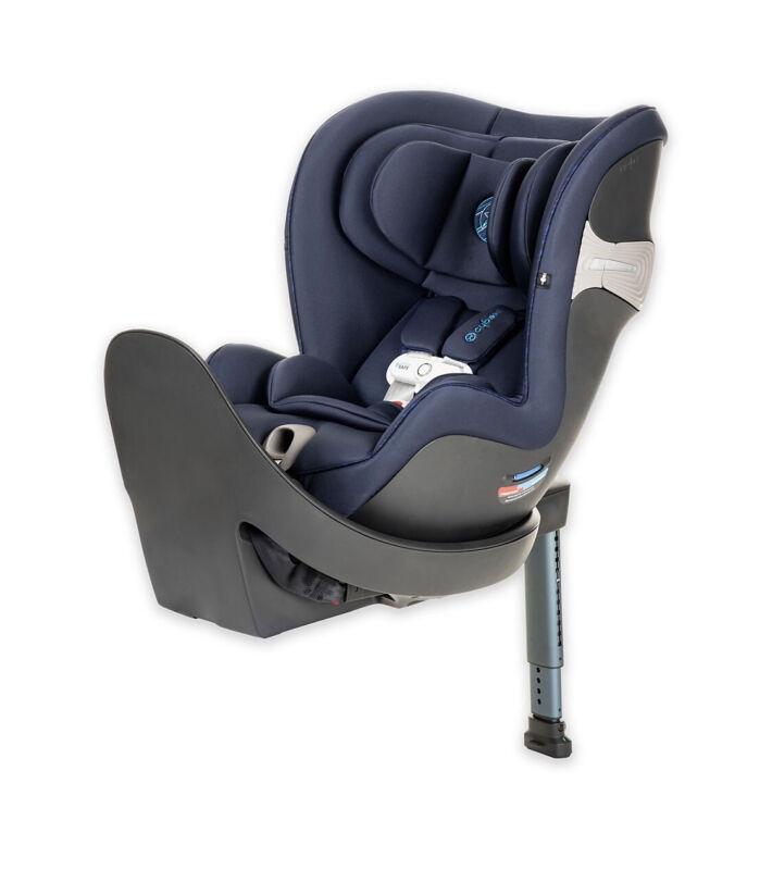 Cybex Sirona S Convertible Car Seat, Rotating & Sensor Safe - Blue MANF 09/2020