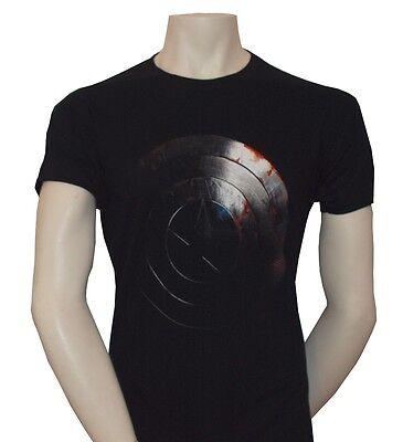 Avengers Captain America Schild T-Shirt, schwarz**Gr.M**NEU** ()