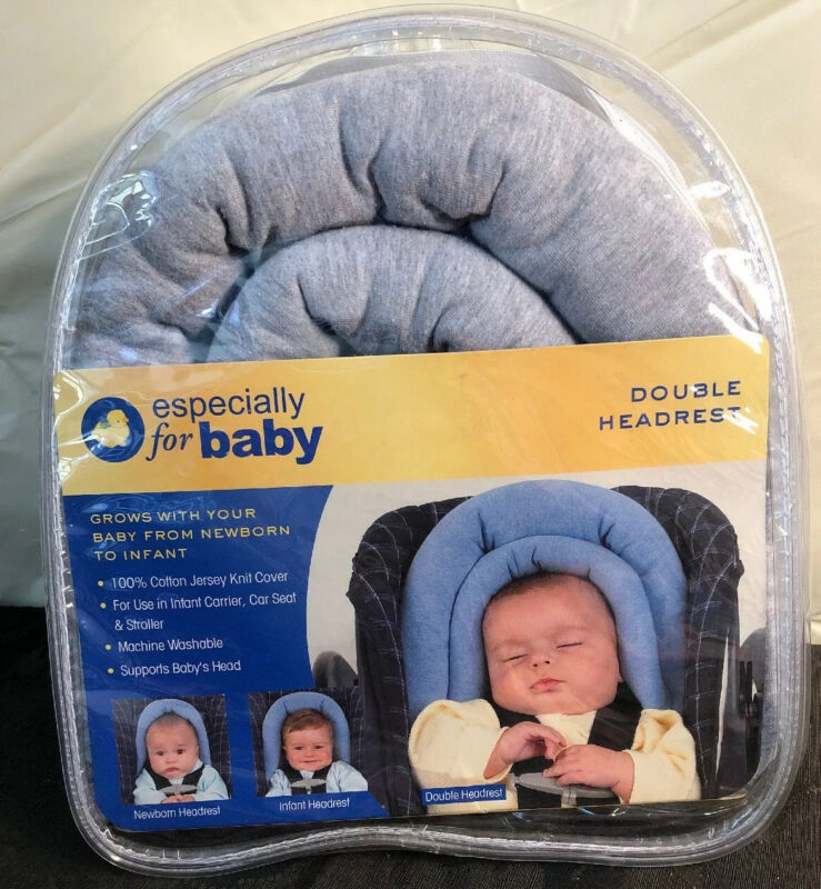 New Especially for Baby Gray Double Headrest For Newborn & Infant