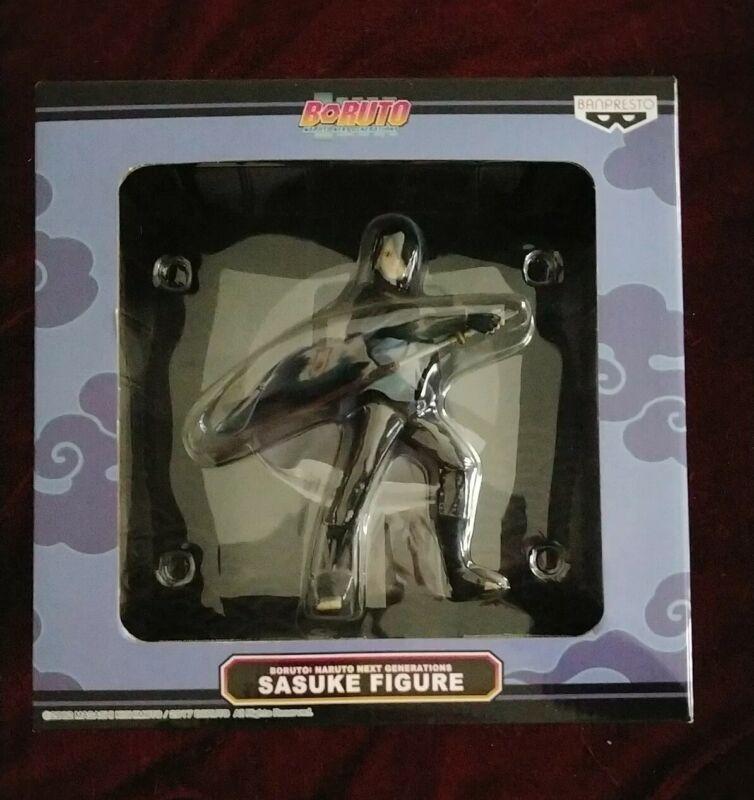"SADUKE Figure Banpresto Boruto Naruto Next Generations Uchiha Figurine BOX 6.3"""
