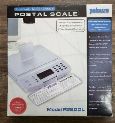 Digital Postal Scale Pelouze Internet Downloadable Ps20dl 20-lb Capacity