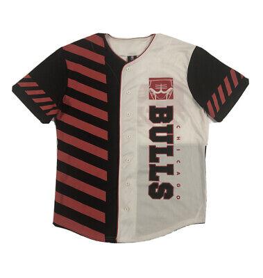 NBA Chicago Bulls Baseball Jersey Size Mens Medium Hip Hop '66