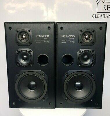 Kenwood LS-54 Speakers 8ohms 80 Watts - Vintage Hi Fi Separates
