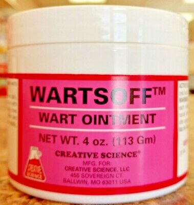 Wartsoff Wart Ointment 4 Oz Remove External Warts Cattle Goats Horses Dogs