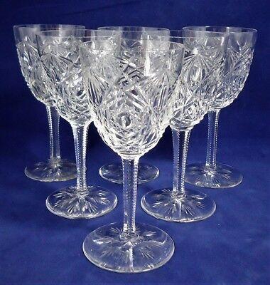 6 verres à cristal Baccarat Lagny 13 cm Réf A25/7/9  d'occasion  Expédié en Belgium