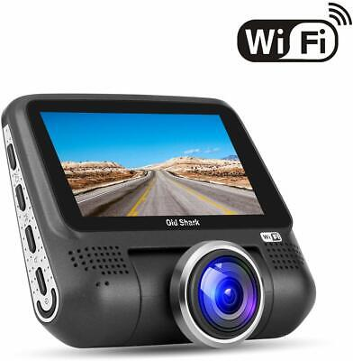 "Old Shark Dash Camera 1080P HD DVR 220* Wide Angle 3"" LCD Screen"
