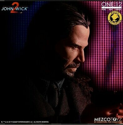 Mezco One:12 John Wick Chapter 2 Exclusive Deluxe Edition READY TO SHIP