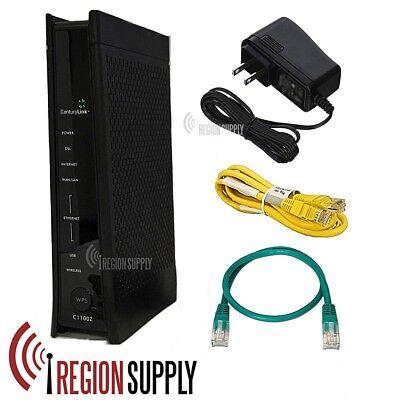 Centurylink Zyxel C1100z Wireless Router Modem Combo Adsl2  Vdsl Gpon Ipv6