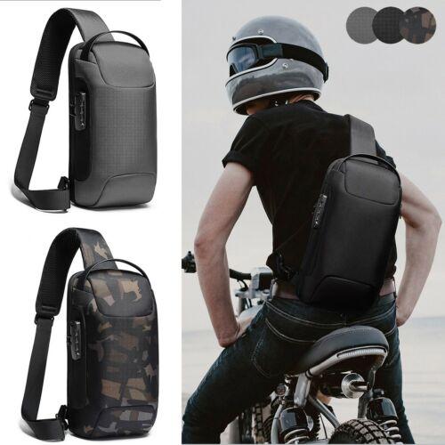 Anti-theft Sling Backpack Men's Chest Bag Crossbody Backpack