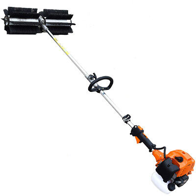 The Erman Petrol Sweeper Embc520-2 Combustion Sweeper Practical And Powerful