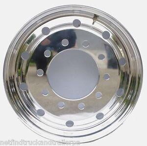 Rim-Truck-Trailer-STEER-9-9inch-offset-10-Stud-285-Aluminium-Polished-Rim