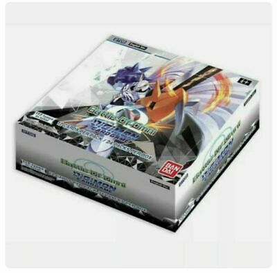 Digimon TCG Battle of Omni Booster Box - English - Preorder - Ships 8/6/2021
