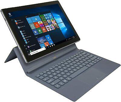 Windows 10 NuVision Encite Split 32 GB, Wi-Fi, 11.6 in Tablet Open Box