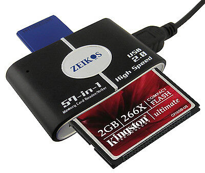 Memory Card Reader/Writer For Nikon D7500 D500 D5500 D5300 D3300 D3400 D5600 D4