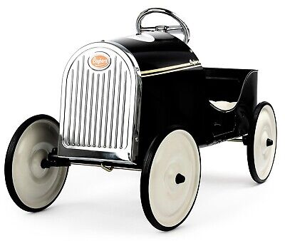 Baghera 1922 Legend Kids Pedal Car Black 3-6 Years NEW