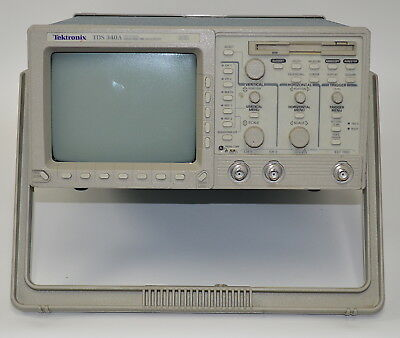 Tektronix Tds 340a 100 Mhz 2-channel Digital Real Time Oscilloscope Used