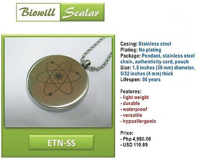 NEW Authentic Biowill Quantum Scalar Energy Pendant for sale  Shipping to Canada