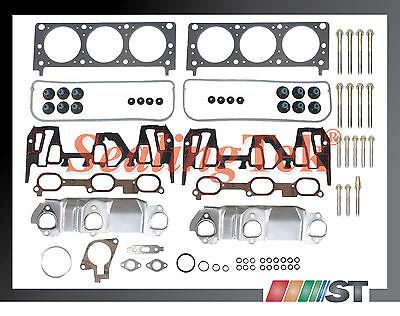 00-03 GM 3400 3.4 207 V6 VIN E Head Gasket Set w/ Bolts Kit engine cylinder part