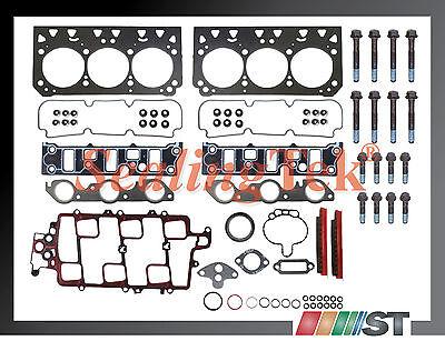 97-05 GM 3800 3.8L 231 VIN K,2 Head Gasket Set w/ Bolts Kit engine cylinder part