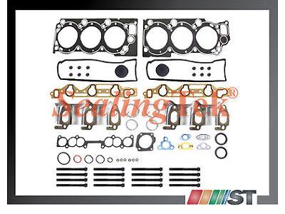 Fit Toyota 3.0L V6 3VZE Engine Cylinder Head Gasket Set w/ Bolts Kit 3VZ-E motor