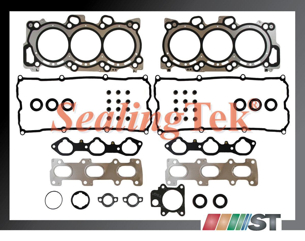 98 04 Isuzu 3 2 3 5L 6VD1 6VE1 Cylinder Head Gasket Set V6 DOHC Engine Parts Kit
