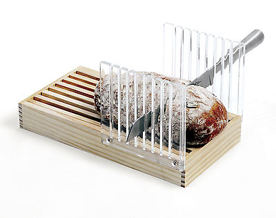 Norpro 370 Bread Slicer And Guide With Crumb Catcher on Sale