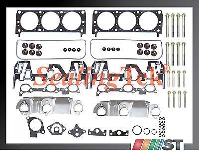 95-99 Gm 3100 3.1l 189 V6 M 2 Head Gasket Set W/ Bolts Engine Cylinder Parts